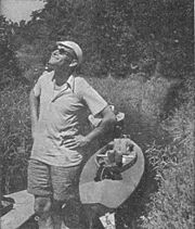 Priest Karol Wojtyła on kayak trip