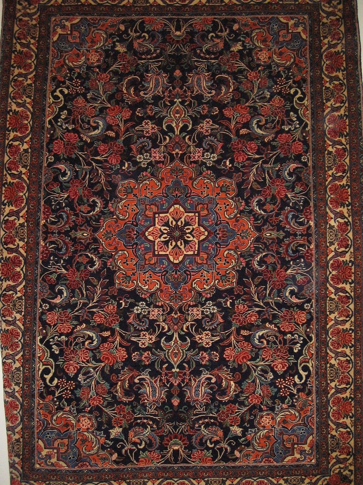 Très Tapis de Kashan — Wikipédia HD83