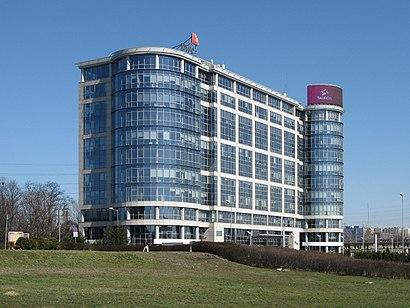 Katowice Business Point w Silesian Voivodeship (Autobus lub