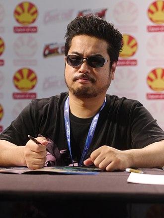 Katsuhiro Harada - Katsuhiro Harada at the 14th edition of the Japan Expo in 2013