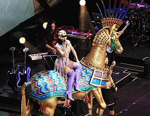 "Dark Horse (Katy Perry song) - Perry performing ""Dark Horse"" in Newark, New Jersey"