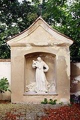 Bildstock hl. Franziskus (irrt. Aloisius)