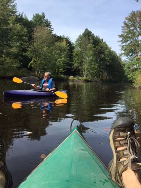 Kayaking in Peterborough NH