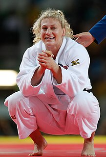 Kayla Harrison American Olympic judoka and MMA fighter