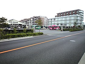 Keio Dentetsu Bus honsha Head Office.jpg