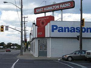 Kenilworth Avenue (Hamilton, Ontario) - East Hamilton Radio Building