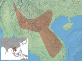 Kerivoula titania distribution (colored).png