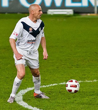 Kevin Muscat - Muscat with Melbourne Victory in 2010