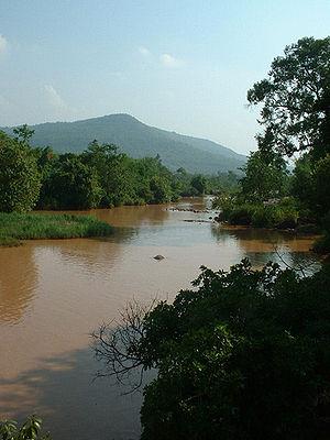 Phetchabun Mountains - Image: Khek River in Wang Thong