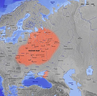 Russia - Kievan Rus' in the 11th century