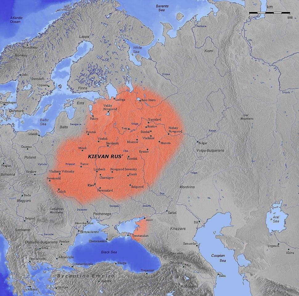 Kievan Rus en