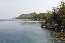The eastern shores of Lake Tanganyika.