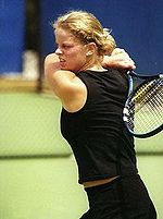 Kim Clijsters won nine titles in the year.
