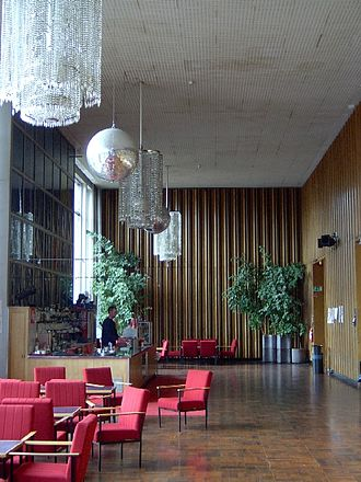 Kino International - Bar area