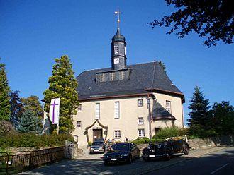 Breitenbrunn, Saxony - Church