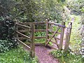 Kissing Gate, Haysden Country Park. - geograph.org.uk - 189742.jpg