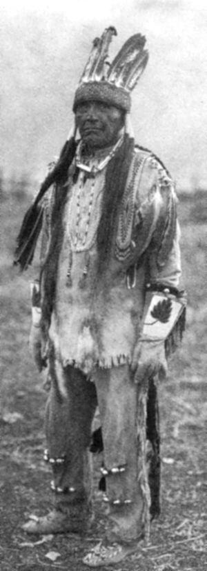 Klamath people - A Klamath man