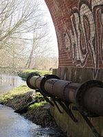 Kluß Wallensteingraben Brücke Bahnstrecke Bad Kleinen-Wismar 2014-02-25 5.JPG
