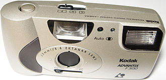 Advanced Photo System - A typical low-end, fixed-focus APS compact camera