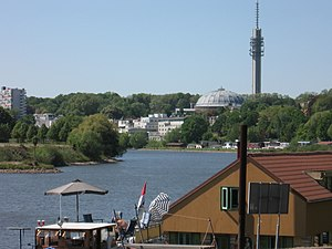 KEMA Toren - The KEMA Toren viewed across the Rhine