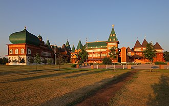 Kolomenskoye - A modern reconstruction of the Wooden palace (2011)