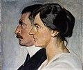 Kong Christian X og Dronning Alexandrine af Danmark - Michael Ancher.jpg