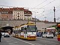 Konstal 116N 3002, tram line 46, Warsaw, 2010.jpg