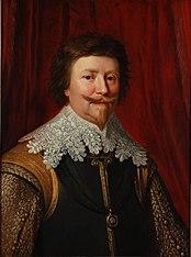 Portrait de Frederik Hendrik, prins van Oranje (1584-1647)