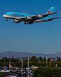 Korean Air Airbus A380 (HL7612) at LAX (22314634633).jpg