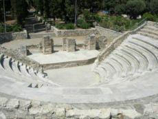Μικρό αρχαίο θέατρο στην Κω