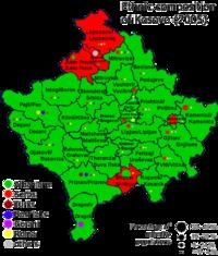 Kosovo ethnic 2005