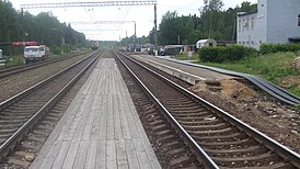 Kostino railway station (view from temp.platform to east).JPG
