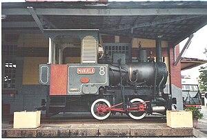 Georg Krauß - Krauss No.2092 manufactured 1889; today displayed in the station at São Lourenço, Brazil
