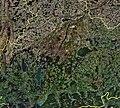 Kreisgrenzen in der Region München auf Satellietenbild.jpg