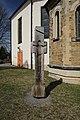 Kreuz an der Ev.-Luth.Kirche in Elterlein. Sachsen. 2H1A1863WI.jpg