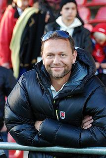 Krister Nordin Swedish former professional footballer (born 1968)