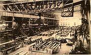 The Krupp Gun Works during World War I