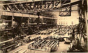 Gustav Krupp von Bohlen und Halbach - The Krupp Armament-Works, 1915