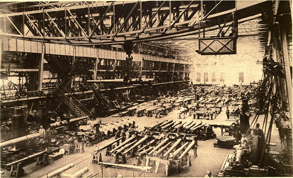Krupp Factory WWI