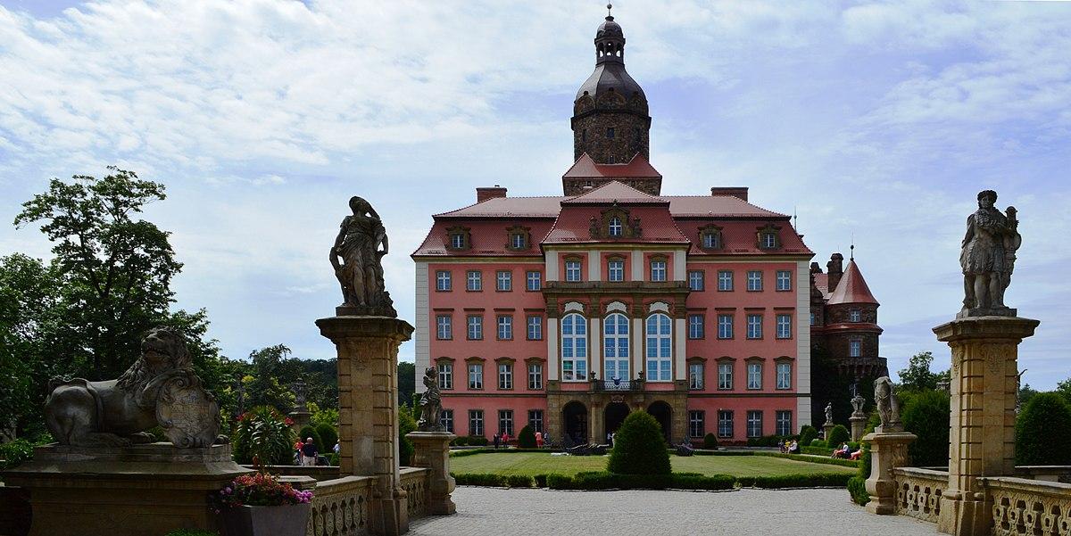 Hochberg Palace Poland