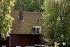 foto van Houten ingenieurswoning onder met Hollandse pannen gedekt zadeldak