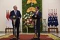 Kunjungan Perdana Menteri Australia Scott Morrison ke Indonesia (44349906102).jpg