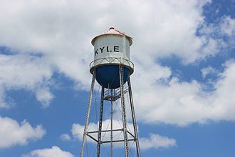 Kyle, Texas - Kyle water tower