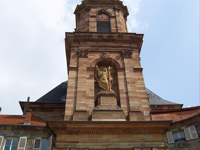L'église abbatiale Saint-Nabor