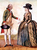 Löschenkohl Joseph II. Katharina II 2.jpg