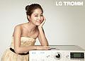 LG 트롬 모델로 발탁된 배우 이민정 (02).jpg