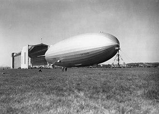 LZ 130 Graf Zeppelin II - Graf Zeppelin at Lowenthal Hangar in 1938