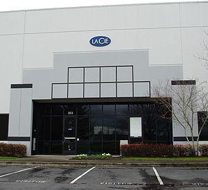 LaCie - Company's headquarters in Hillsboro, Oregon