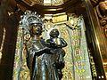 La Moreneta, vierge du monastère et du sanctuaire de Lluc, à Majorque.JPG