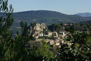 La Roque-Alric Commune in Provence-Alpes-Côte dAzur, France